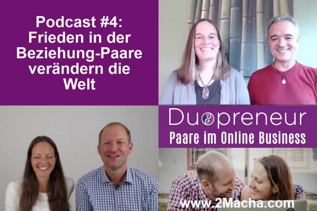 Frieden in der Beziehung_Duopreneur-Podcast Folge mit Teresa und Tamer