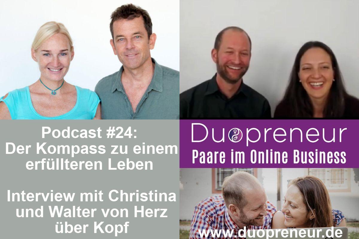 Christina und Walter von Herz über Kopf im Interview