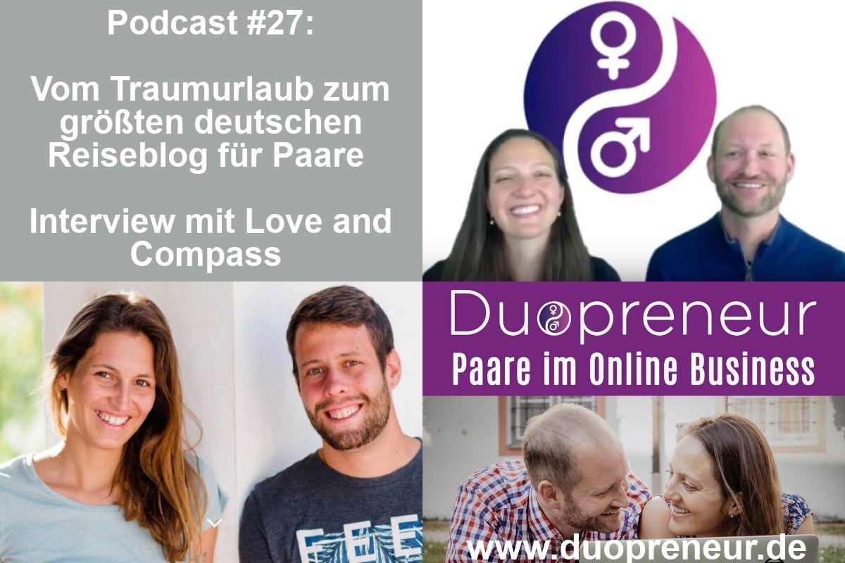 größter deutscher Reiseblog für Paare