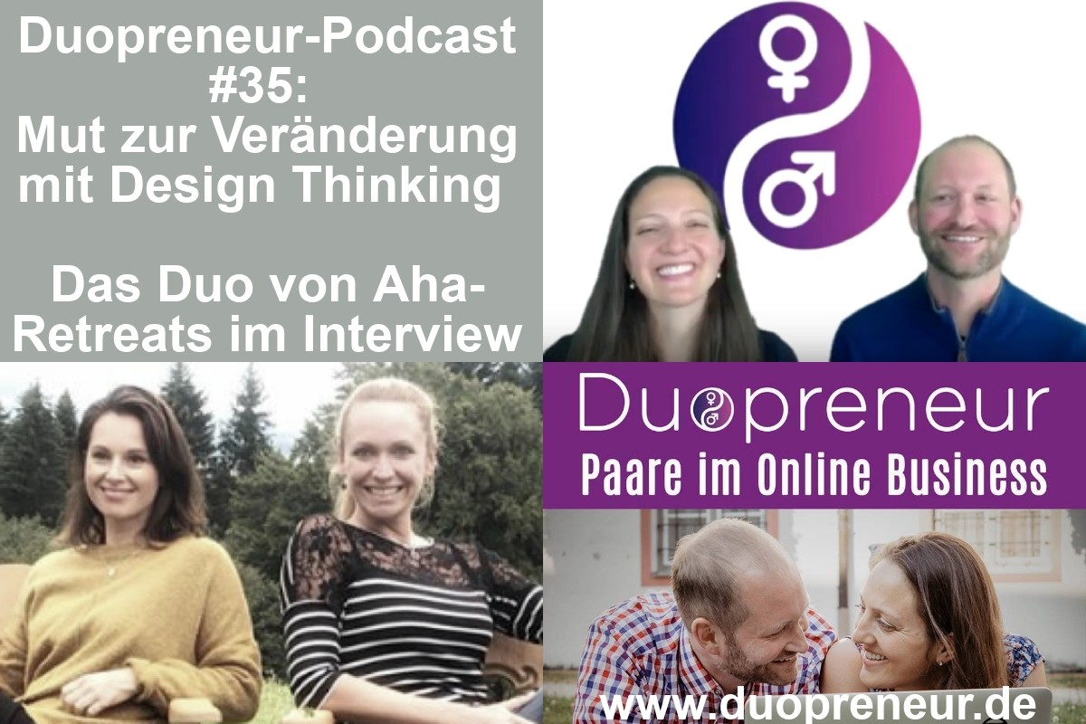 Folge 35 - Design Thinking - aha-Retreats