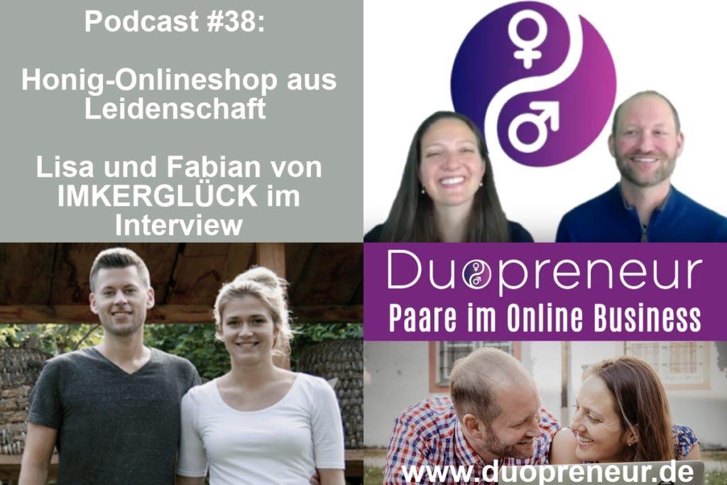 Imkerglück im Duopreneur-Podcast