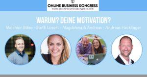 Duopreneur im Interview für den Online Business Kongress