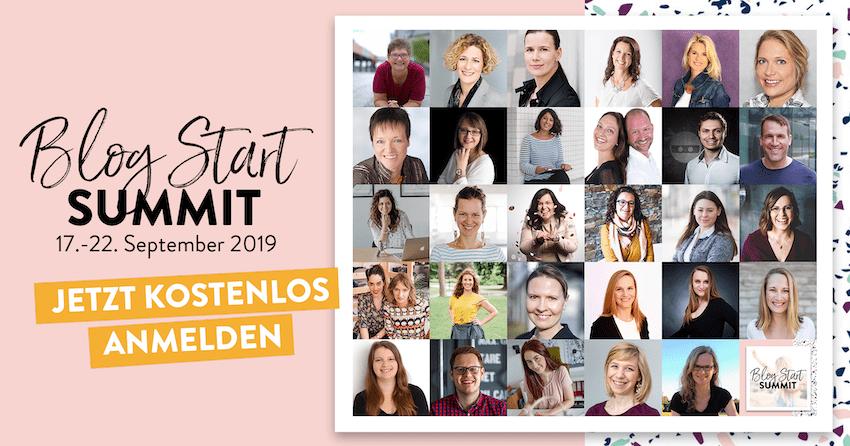 Blog Start Summit - kostenloser Online Kongress für alle die einen Blog starten wollen