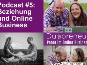 Paarbeziehung_Duopreneur-Podcast mit Magdalena und Andreas